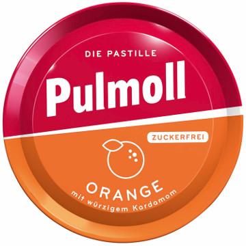 Pulmoll Hustenbonbons Orange + Vitamin C Zuckerfrei 50g