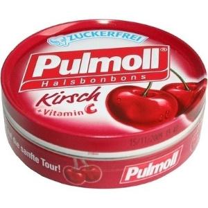 Pulmoll Halsbonbons Kirsch Zuckerfrei - 50g