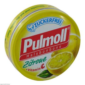 Pulmoll Halsbonbons Zitrone Zuckerfrei(50g)
