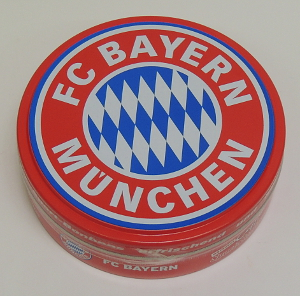 Cupper Sport Bonbons FC Bayern München, Kirsch u Eisbonbon (60g)