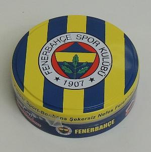 Cupper Sport Bonbons Fenerbahçe Eisbonbon, zuckerfrei  (50g)