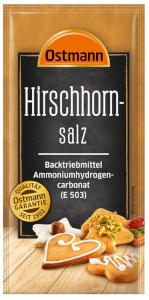 Ostmann Hirschhornsalz 15g