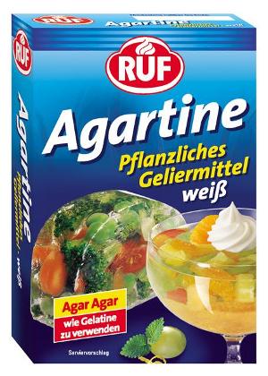 Ruf Agartine Pflanzliches Geliermittel weiss 3 x 10g