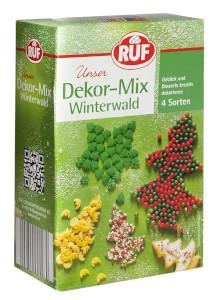 Ruf Unser Dekor-Mix Winterwald 4 Sorten 130g