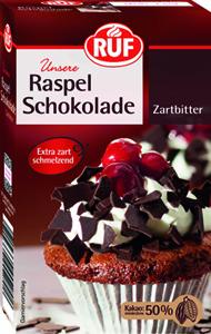 Ruf Raspelschokolade Zartbitter (50% Kakao) 100g