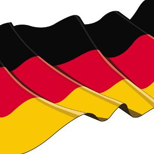Papier Servietten Deutsche Fahne 50 Stck