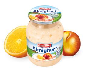Ehrmann Nektarine Florida-Orange Almighurt Frucht 500g