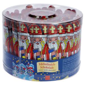6- Storz Nikolaus aus Edel-Vollmilchschokolade 10er x 12,5g