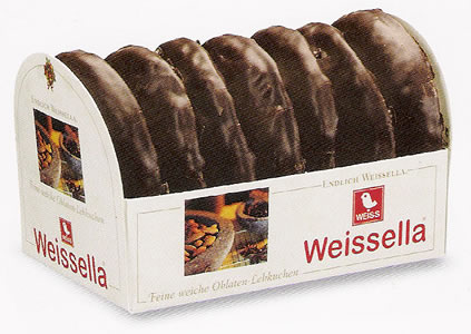Weiss Weissella Schokoladenüberzogen 200g