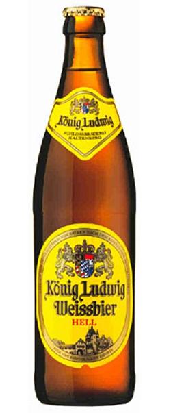 König Ludwig Weissbier Hell alk. 5,5% vol 50cl