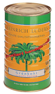 Heinrich Lüders Grünkohl 1200g
