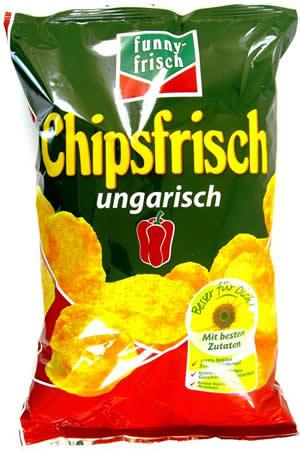 Funny Frisch Chipsfrisch Ungarisch 250g