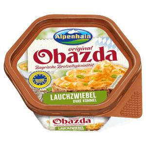 Alpenhain Obazda Original Lauchzwiebel 125g