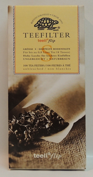 Riensch & Held Teefilter Braun taille S (100 stück)