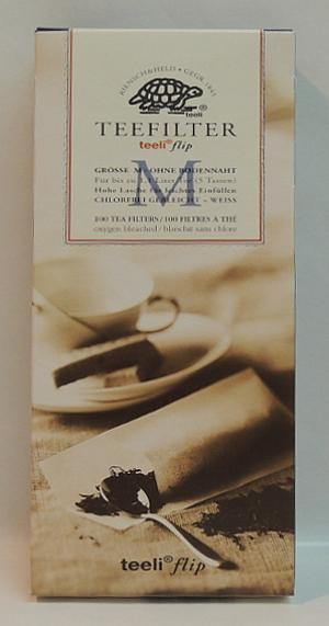 Riensch & Held Teefilter Weiss taille M (100 Stück)