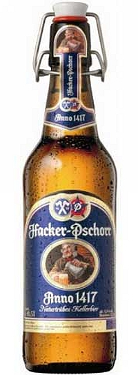 Hacker-Pschorr Anno 1417 Kellerbier Alk. 5,5% vol 50cl
