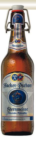 Hacker-Pschorr Sternweisse Hefeweissbier - 50cl