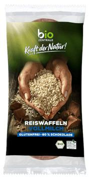 Bio Zentrale Reiswaffeln Vollmilch 100g