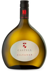 1- SCHLOSS CASTELL Silvaner trocken 2015 Alk. 13,0% Vol 250ml
