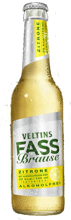 Veltins Fass Brause Zitrone Alkoholfrei 33cl