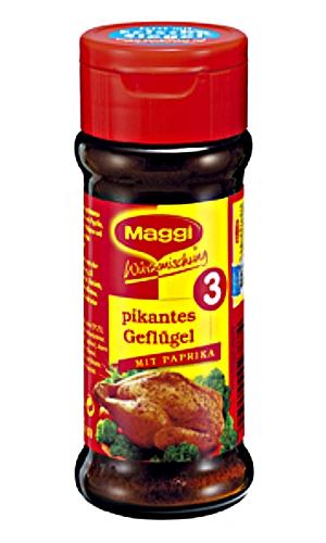 2- Maggi Würzmischung N° 3 Pikantes Geflügel mit Paprika 65g