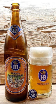 Hofbträu Münchner Sommerzwickl Alk. 5,1% vol 50cl