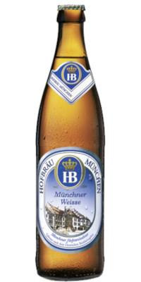 Hofbräu Münchner Weisse Alk. 5,1% vol 50cl x 4er