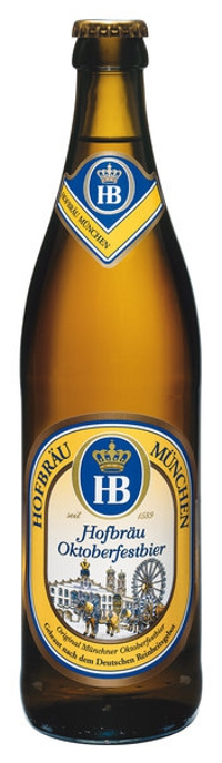 Hofbräu Oktoberfestbier Alk. 6,3% vol 50cl