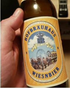Hofbräuhaus Wiesn Bier Oktoberfestbier Alk. 6,2% vol 50cl