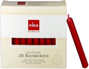 Eika 20 Baumkerzen Rot