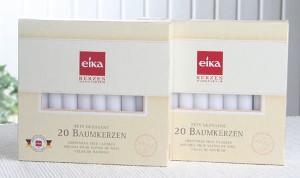 Eika 20 Baumkerzen Weiss