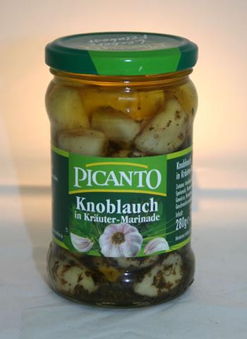 Picanto Knoblauch in Kräuter-Marinade (280g)