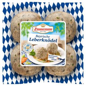 Zimmermann Original Bayrische Leberknödel 300g für 4 Stück