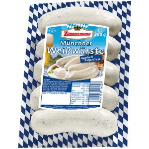 Zimmermann 5 Münchner Weisswürste (300g)