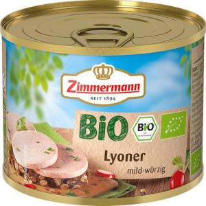 Zimmermann Bio-Lyoner 200g