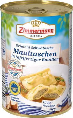 Zimmermann Original Schwäbische Maultaschen-Suppe 400ml
