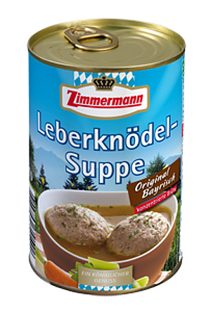 Zimmermann Original Bayerische Leberknödel-Suppe 400ml