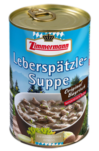 Zimmermann Leberspätzle-Suppe 400ml