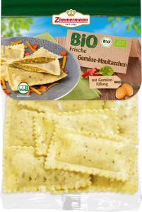 Zimmermann Bio Frische Gemüse Maultaschen 250g für 10 Stück