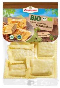 Zimmermann Bio Original Schwäbische Maultaschen mit Fleisch 250g