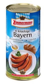 Zimmermann 8 Knackige Bayern