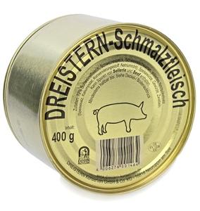 Dreistern-Schmalzfleisch 400g