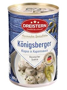 Dreistern 4 Königsberger Klopse in feiner Kapernsauce 400g
