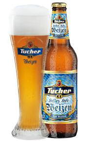 Tucher Helles Hefe Weizen Alk. 5,2% vol 50cl x 4er