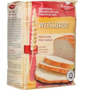 Küchenmeister Weissbrot Backmischung mit Hefe 1kg