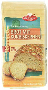 Küchenmeister Kürbiskernbrot Backmischung mit Hefe 1kg