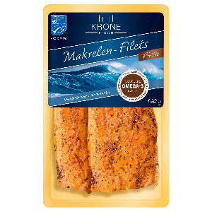 Krone Fisch Pfeffermakrelen-Filets 160g