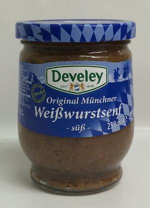 Develey Original Münchner Weisswurstsenf süss (288g)