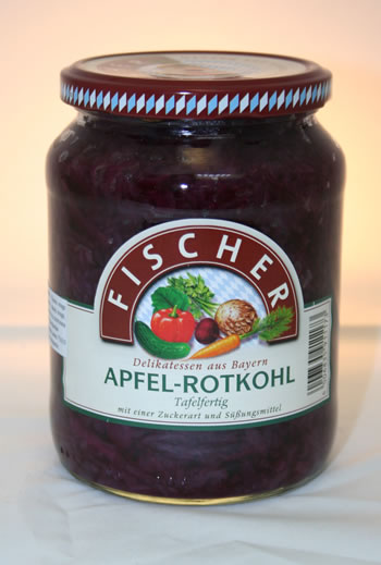 Fischer Apfel-Rotkohl 720ml