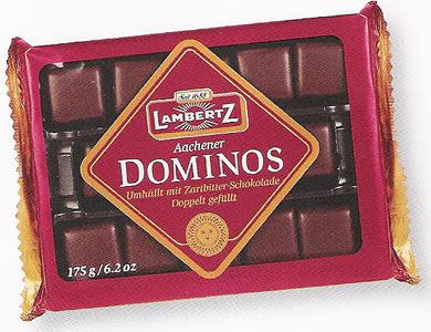 Lambertz Dominos Zartbitter 175g